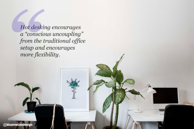 Quote based on Hot-Desking