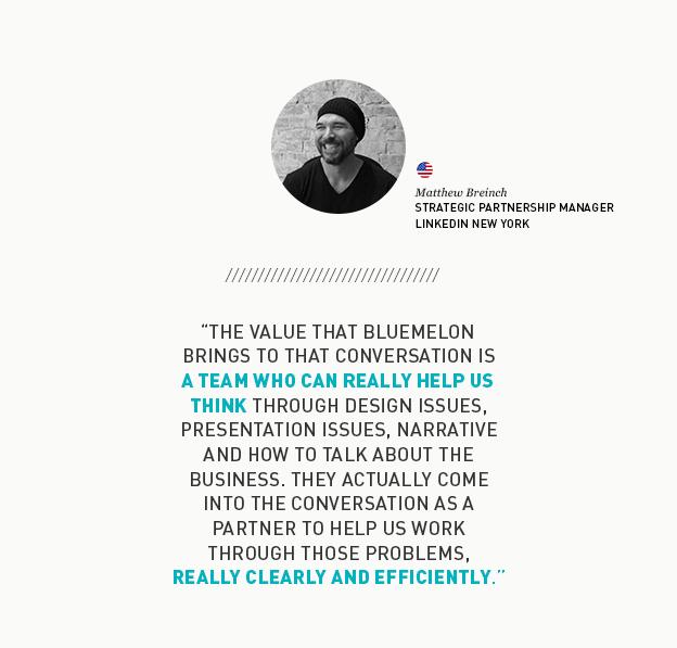 Matthew Briench Quote about BlueMelon