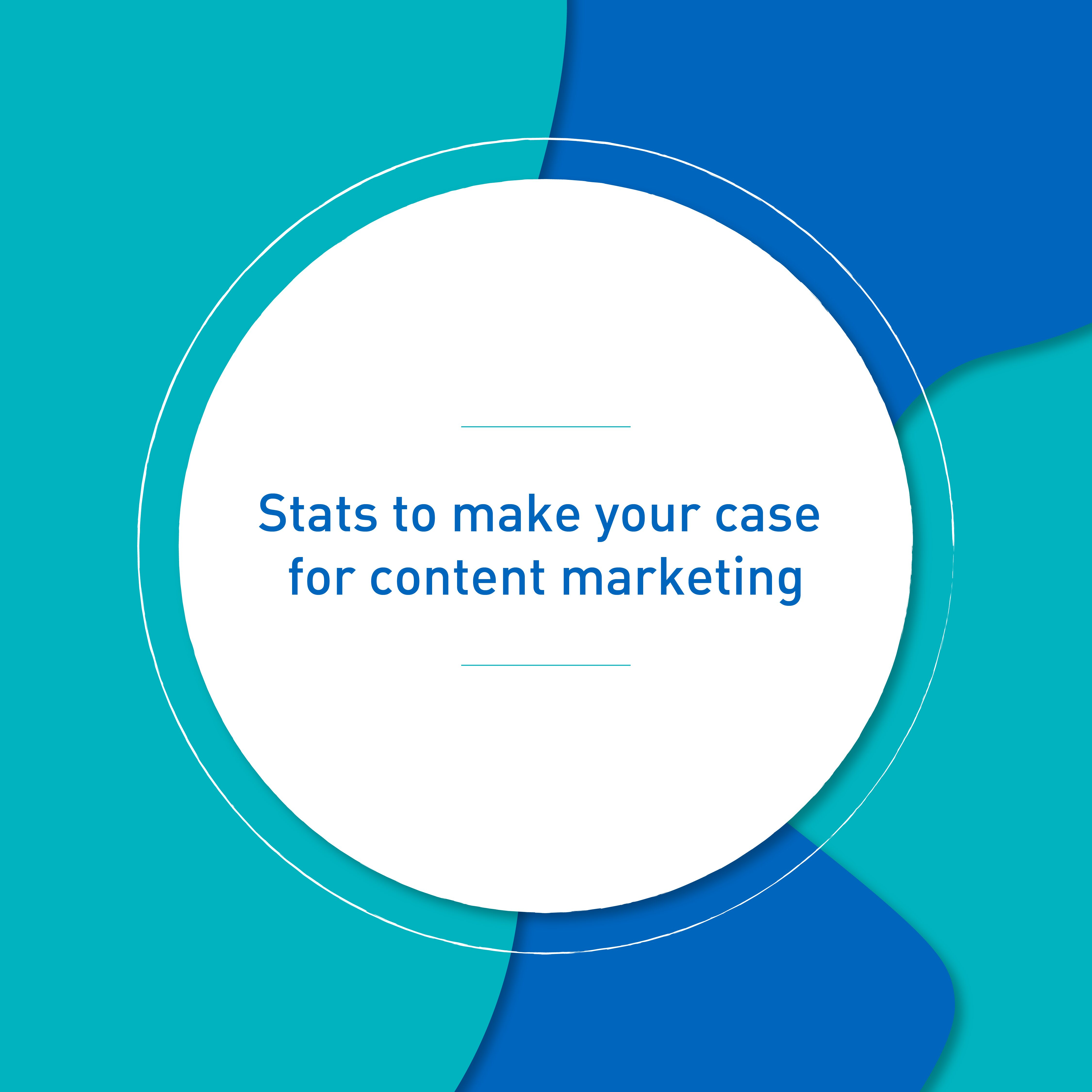 Featured Stats for Content Marketing