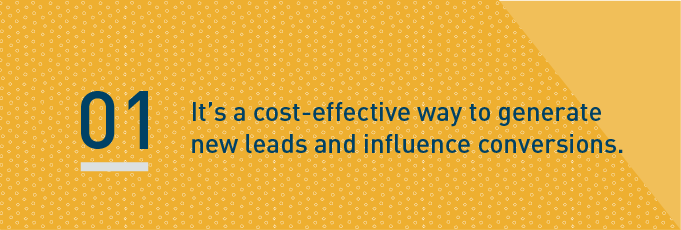 cost effective way to generate new leads